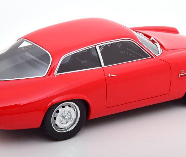 Alfa Romeo Giulietta Sprint Zagato Coda Tronca 1961 Rood 1-18 Cult Scale Models ( Resin )