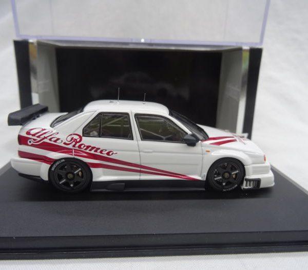 Alfa Romeo 155 V6 T1 Color Plain Color White 1-43 HPI-Racing Limited 1600 pcs