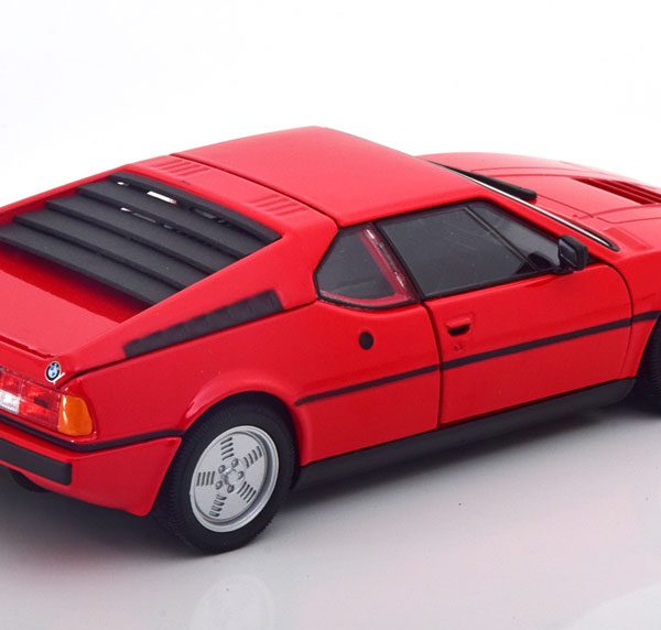BMW M1 1978 Rood 1-24 Welly
