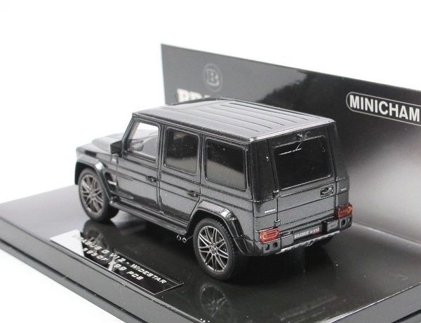"Mercedes Benz ""Brabus"" G V12 Widestar 2010 Grey 1:43 Minichamps Limited 999 Pieces"