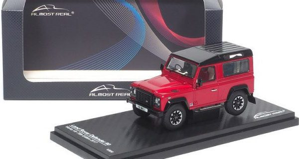 Land Rover Defender 90 Works V8 ( 70th Edition ) Red 1:43 by Almost Real