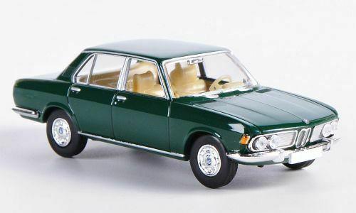 BMW 2500 Donkergroen 1-87 Brekina