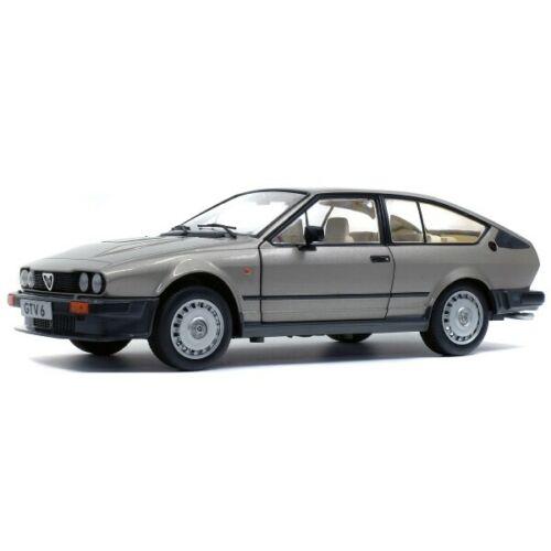 Alfa Romeo GTV6 1984 Silver 1/18 Solido