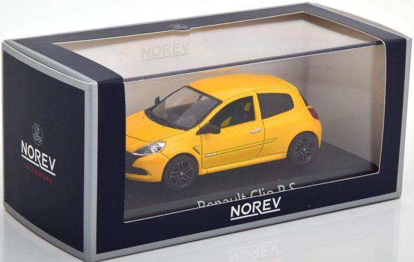 Renault Megane R.S.2009 Sirius Yellow 1-43 Norev