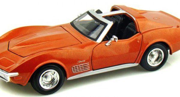 Chevrolet Corvette Targa 1970 Goud 1-24 Maisto