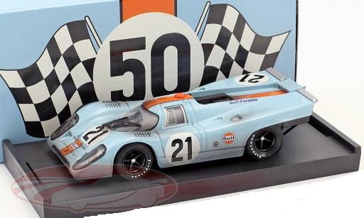 Porsche 917K Dirty Version #21 24Hrs LeMans 1970 Rodriguez, Kinnunen 1:43 Brumm