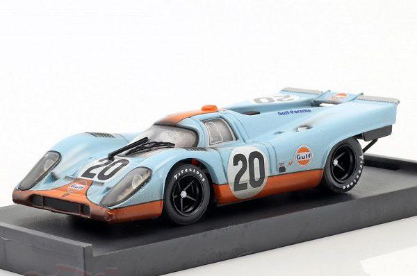 """Porsche 917K 24Hrs Le Mans 1970 #20 Dirty Version """"Gulf"""" J.Siffert - B.Redman 1-434 Brumm"""