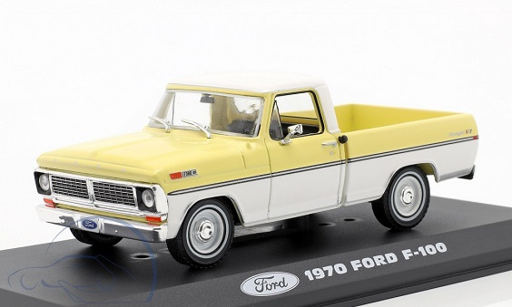 Ford F-100 Pick-Up 1970 Yellow / White 1-43 Greenlight Collectibles