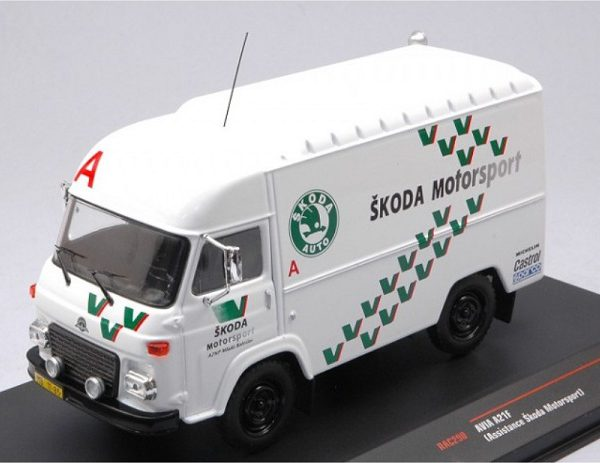 "Avia A21F 1985 Rally Assist ""Skoda"" Rallye Team Wit 1/43 Ixo Models"