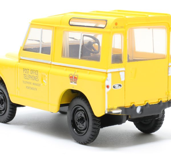 Land Rover Series II SWB Hard Top Post Office Telephones Geel 1-43 Oxford