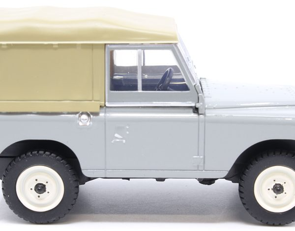 Land Rover Series II SWB Canvas Grijs 1-43 Oxford