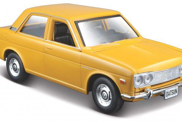 Datsun 510 1971 Geel 1-24 Maisto