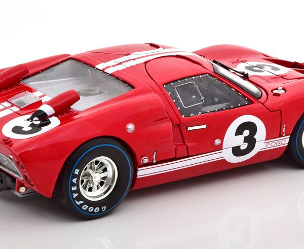 Ford GT40 MK II No.3, 24Hrs Le Mans 1966 Gurney/Grant Rood 1-18 Shelby Collectibles