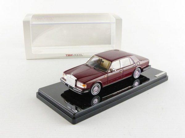 Rolls-Royce Silver Spirit 1980 Bordeaux Rood 1-43 True Scale Miniatures