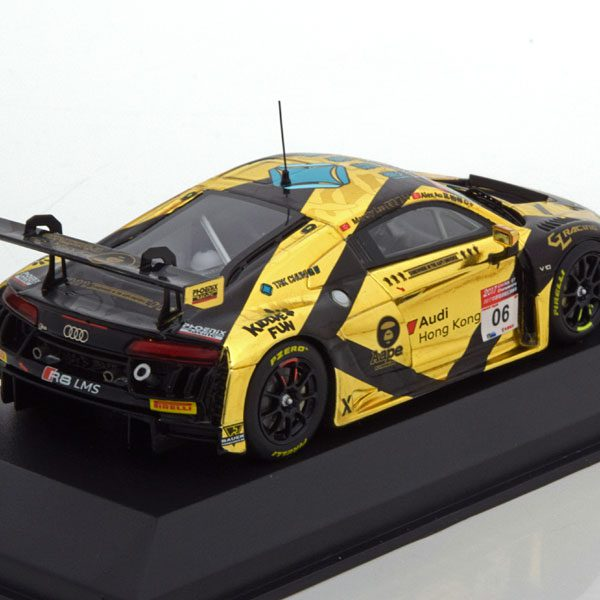 Audi R8 LMS No.6, AAPE / TAK Chun Marchy Lee Alex Au China GT Championship 2017 Tarmac Works Edition 1-43 Made by Minichamps Limited Edition
