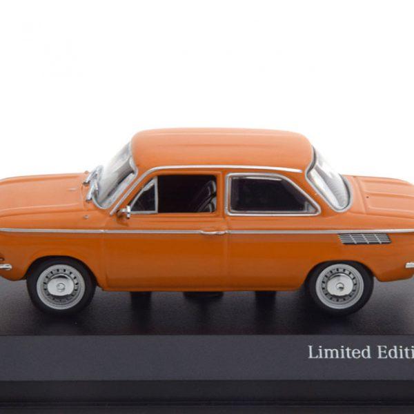 NSU TT 1968 Oranje 1-43 Minichamps Limited 500 Pieces
