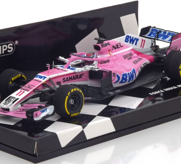 Force India Mercedes VJM11 GP China 2018 S.Perez 1-43 Minichamps ( Resin )
