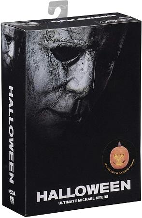 Halloween Ultimate Michael Myers Including Light Up Flickering Pumpkin 7 Inch / 17 cm Neca