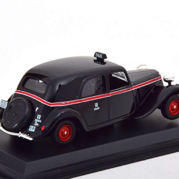 "Citroen Traction Avant ""Taxi Madrid 1955"" Zwart 1-43 Altaya"