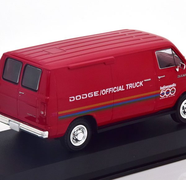 "Dodge Ram B150 ""Official Truck Indy 500"" 1987 Rood 1-43 Greenlight Collectibles"