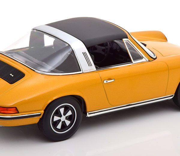 Porsche 911 S Targa 1973 Goud Metallic 1-18 Norev Limited 1000 Pieces