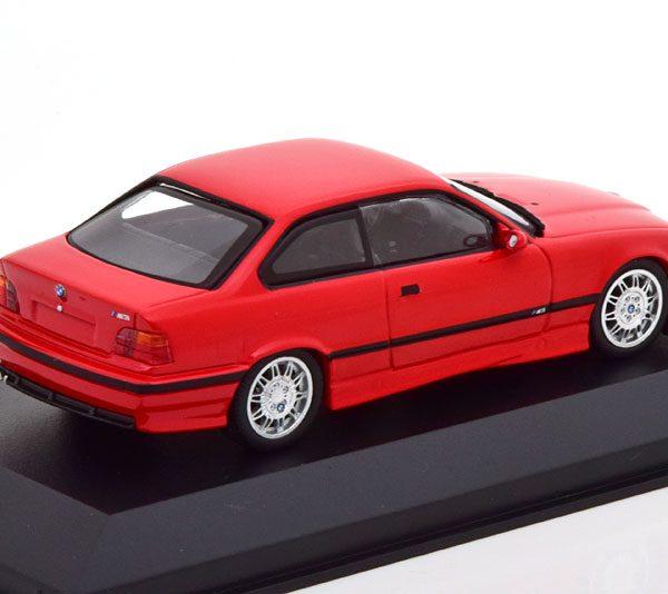 BMW M3 E36 1992 Rood 1-43 Minichamps Limited 500 Pieces