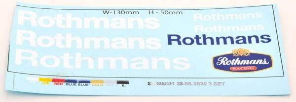 """Porsche 956 LH Winner 24Hrs Le Mans 1982 """"Rothmans"""" Ickx/Bell 1-18 Solido ( With Rothmans Decals )"""