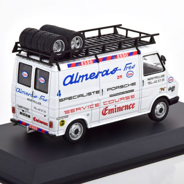 "Citroen C35 Rally Assistance ""Almeras"" Wit 1-43 Ixo Models"