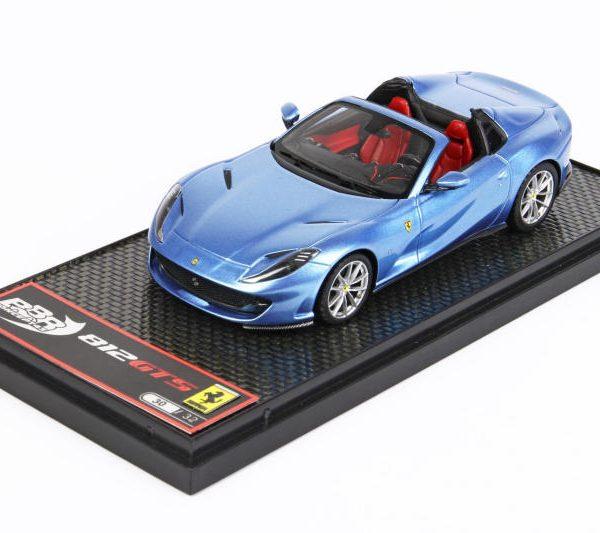 Ferrari 812 GTS Azzurro California ( Blauw Metallic ) 1-43 BBR Models Limited 32 Pieces