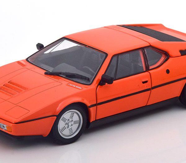 BMW M1 1978 Oranje 1-24 Welly