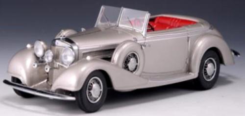 Mercedes-Benz 540K Offener Tourenwagen by Sindelfingen 1938 Grijs Metallic 1-43 GLM Models