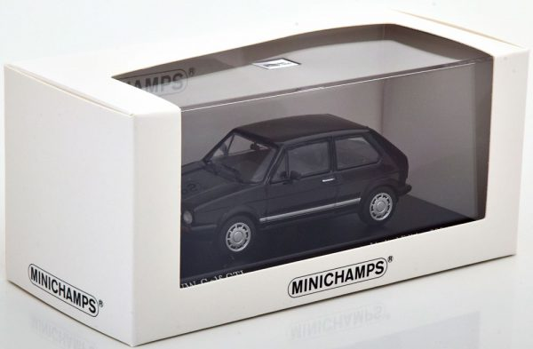 Volkswagen Golf 1 GTI 1983 Zwart 1-43 Minichamps Limited 500 Pieces