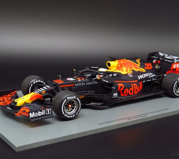 Aston Martin Red Bull Racing RB16 Barcelona Test 2020 Max Verstappen 1-18 Spark