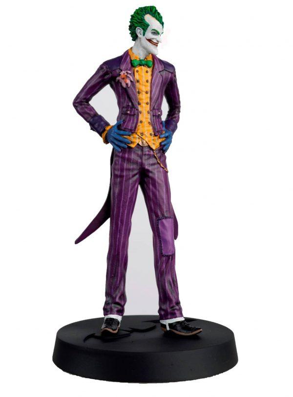 DC Comic Batman Arkham Asylum 10th Anniversary Collection: Batman - The Joker - Harley Quinn Plus Magazines Eaglemoss Hero Collector