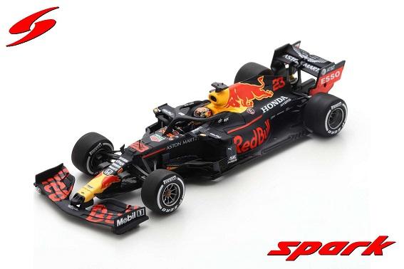 Aston Martin Red Bull Racing RB16 #23 Barcelona Test 2020 Alexander Albon 1-43 Spark