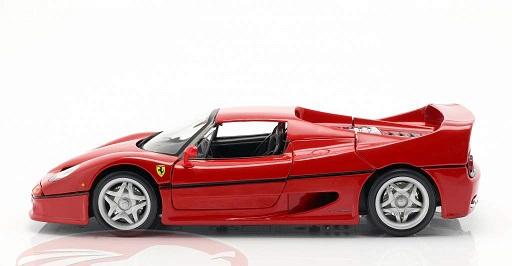 Ferrari F50 ( Closed Top ) 1995 Rood 1-18 Burago