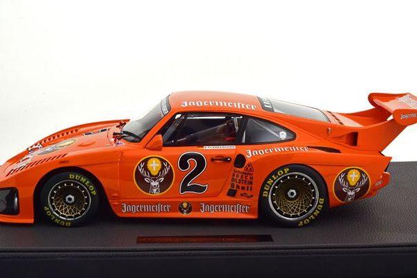 "Porsche 935 K3 ""Jagermeister"" #2 DRM 1980 Plankenhorn Oranje 1-12 Top Marques Limited 250 Pieces"