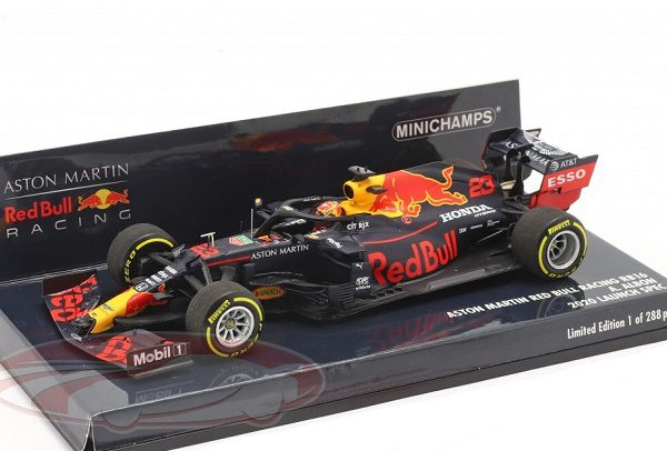 Aston Martin Racing Red Bull Racing RB16 #23 Launch Spec.2020 F1 A.Albon 1:43 Minichamps Limited 288 Pieces