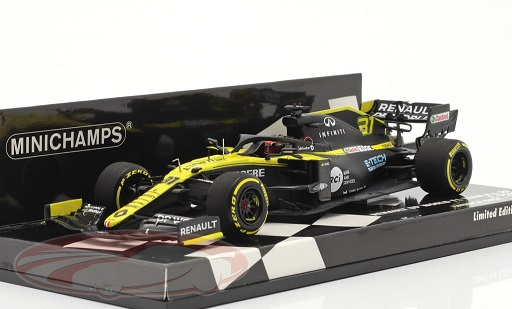 Renault R.S.20 #31 Renault DP World F1 Team Launch Spec F1 2020 Esteban Ocon 1:43 Minichamps Limited 204 Pieces