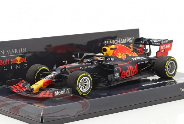 Aston Martin Red Bull Racing RB16 Max Verstappen Launch Spec. F1 2020 1-43 Minichamps Limited 684 Pieces