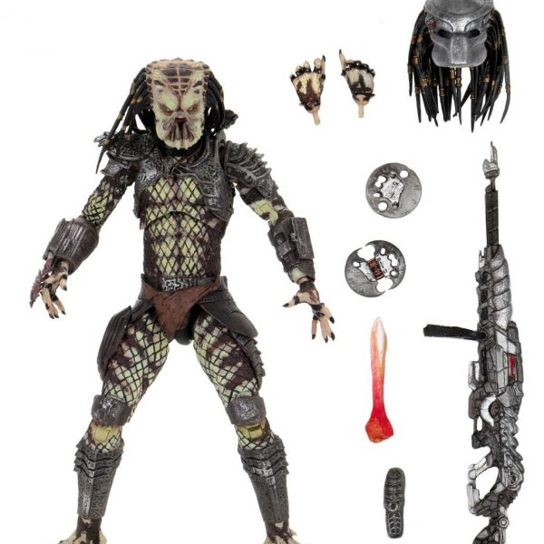 Predator 2: Ultimate Scout Predator 7 Inck / 17 cm Neca