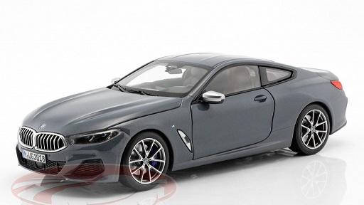 BMW 8 Serie Coupe 2019 Barcelona Blauw Metallic 1-18 Norev ( Dealer )