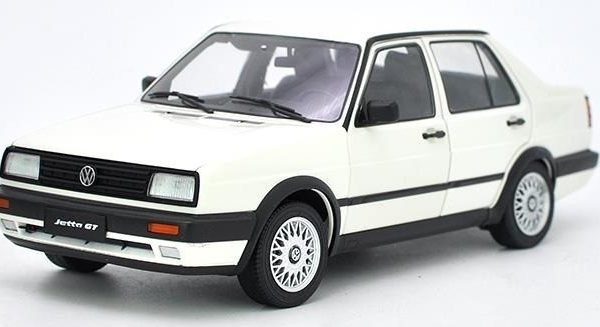 Volkswagen Jetta MK2 GT 1-18 Wit Missions Models