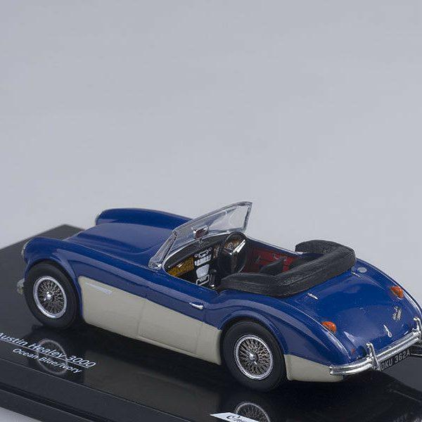 Austin Healey 3000 (Ocean Blue/Ivory) 1-43 Vitesse