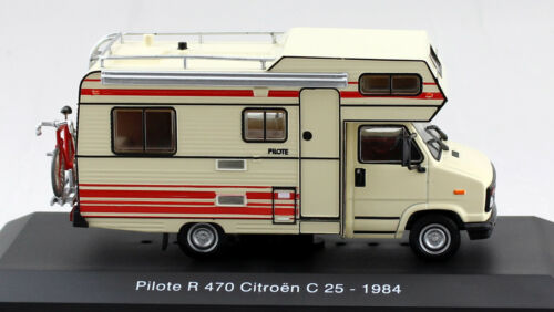 Citroën C25 Pilote R470 1984 Creme / Rood 1-43 Altaya