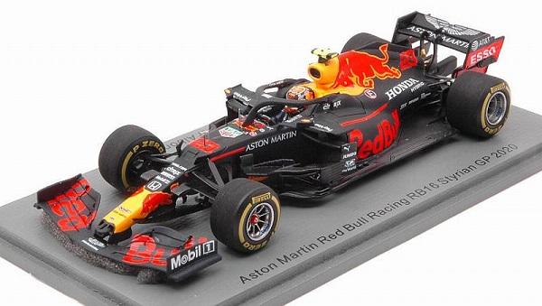 Aston Martin Red Bull Racing RB16 Styrian GP 2020 Alexander Albon 1-43 Spark