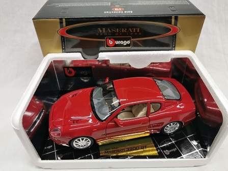Maserati 3200 GT 1998 Rood 1-18 Burago