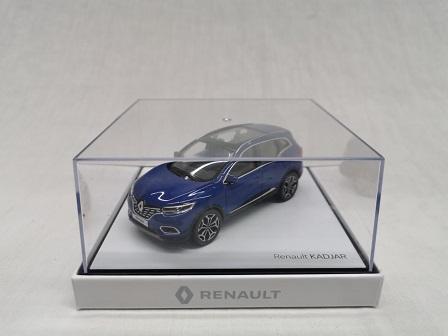 Renault Kadjar 2020 Blauw 1-43 Norev