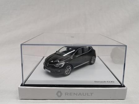 Renault Clio 2020 Zwart 1-43 Norev