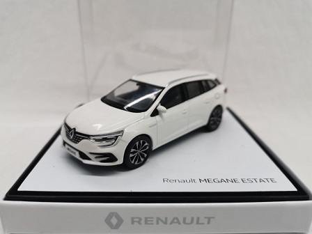 Renault Megane Estate 2020 Wit 1-43 Norev